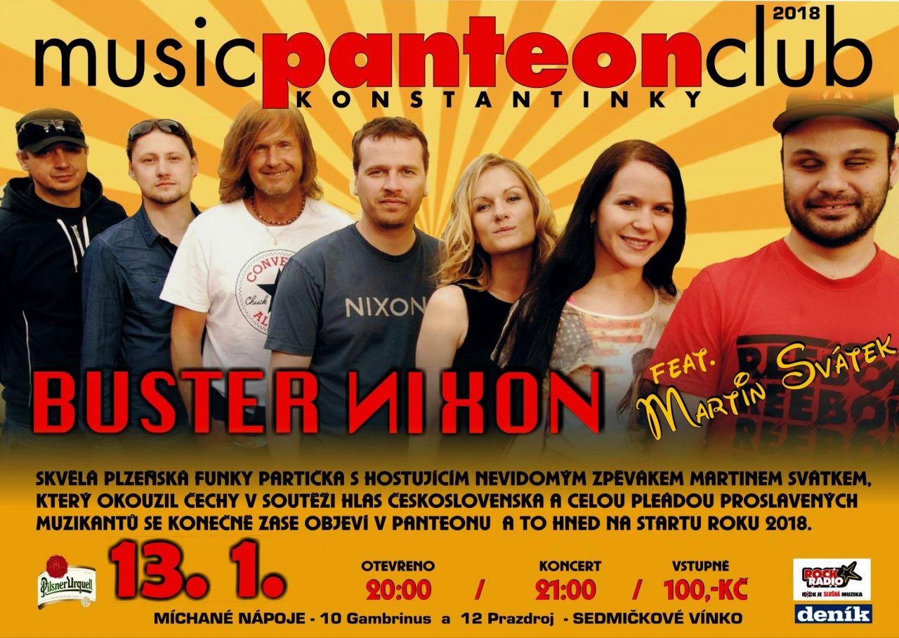 BUSTER NIXON feat. Martin Svátek v MC Panteon 1