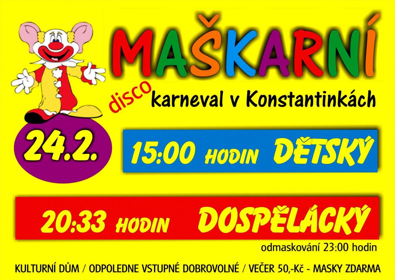 875e87ffd Aktuální kulturní kalendář regionu - MAŠKARNÍ KARNEVAL V ...