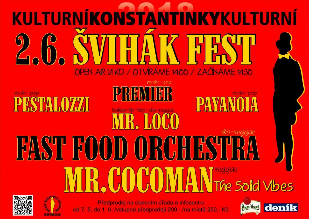 ŠVIHÁK FEST  v Konstantinkách 1