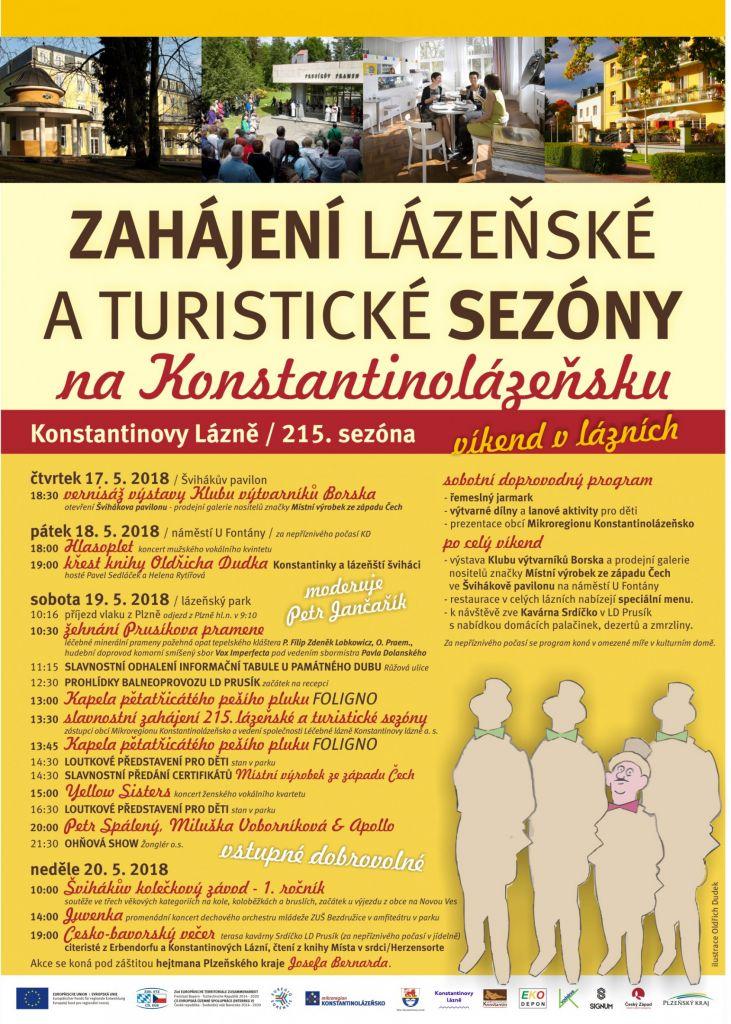 Slavnostní zahájení 215. lázeňské a turistické sezóny  1