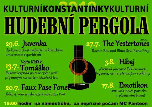 Hudební pergola vKonstantinkách 1