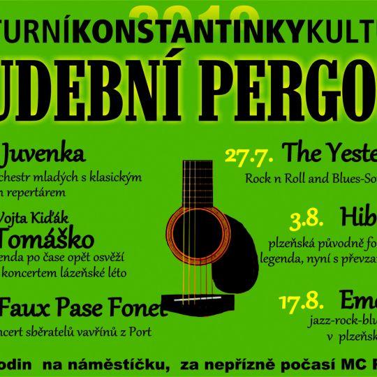 Hudební pergola v Konstantinkách 1
